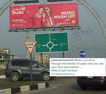 Coke Studio Billboard with Juliana and Flavour