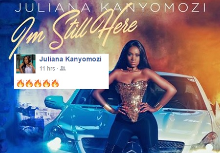 Juliana Kanyomozi back with Im Still Here