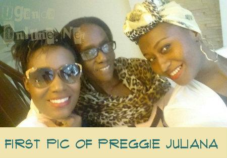 Juliana Kanyomozi, mom and her sister, Laura