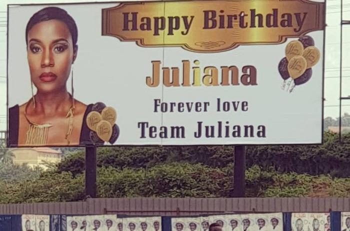 Juliana's 40th birthday