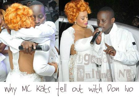 Zari and MC Kats at the ll White Party