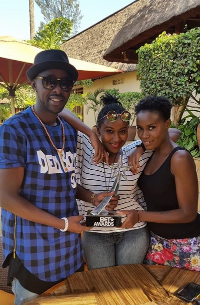 Eddy Kenzo, Laura and Juliana