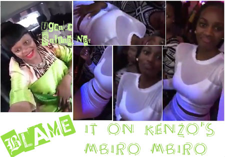 Rema and Tracy dance and sing to Kenzo's Mbiro song