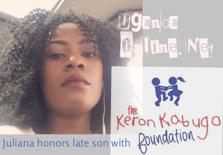 Juliana honors late son with the Keron Kabugo foundation