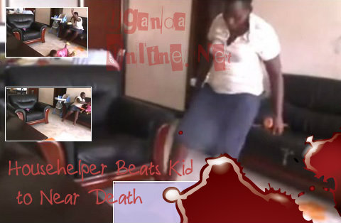 Jolly beating up a helpless little girl