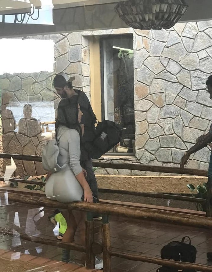Kim Kardashian West at Chobe Safari Lodge