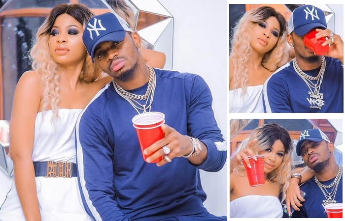 Kim Nana and Diamond Platnumz an item