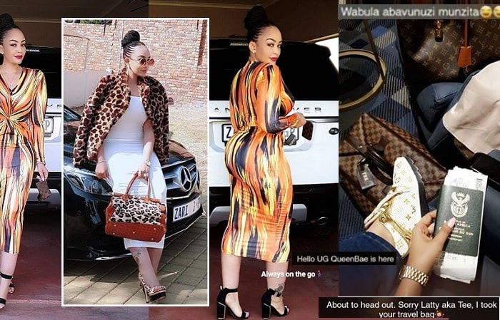 Curvy Zari in town after jetting in with King Bae