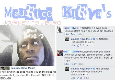 Maurice Kirya's journey to Johannesburg