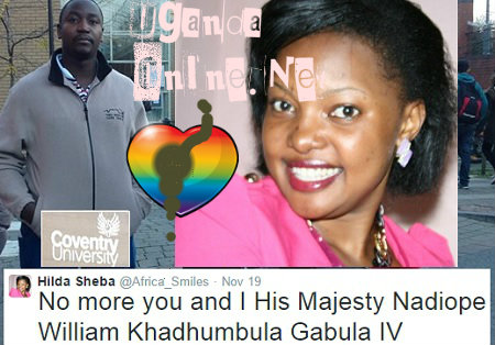 No More you and I His Majesty Nadiope William Khadhumbula Gabula IV