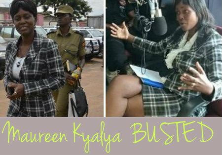Maureen Kyalya busted