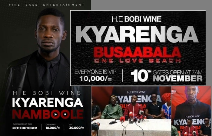 Bobi Wine announces new date and venue for the Kyarenga concert