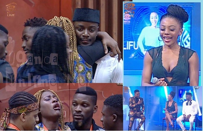 It was tears in the house as Leo was evicted