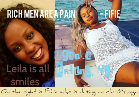 Ric men are a pain Leila's friend Fifie narrates