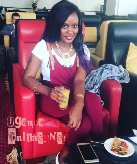 Leila Kayondo off for a heart break holiday