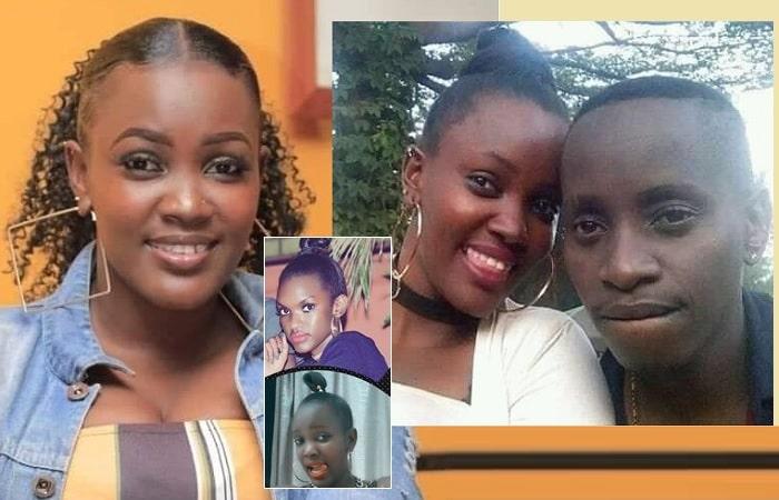 MC Kats and Faith Ntaborwa...