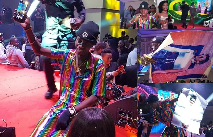 MC Kats during the Mixtape party that was held at the Royal Regency