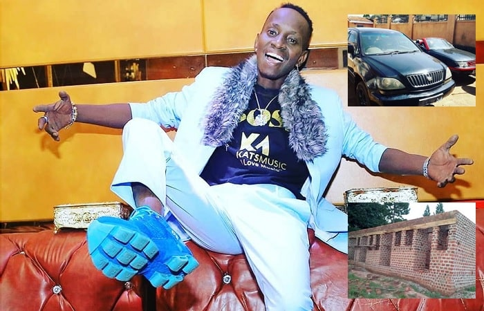 "MC Kats shows off his ""assets"" to prove that he is rich"