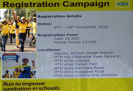 MTN Marathon 2016, registration ends November 18, 2016
