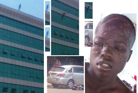 Mustafa is recuperating following the Mabairizi fall