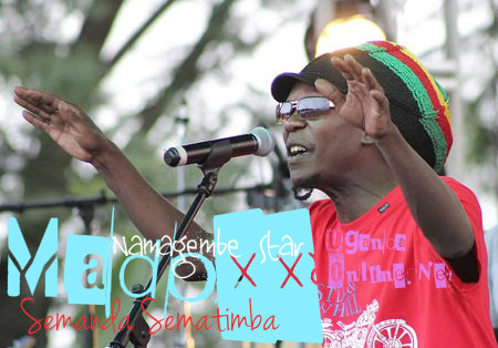 Madoxx doing his thing at the Blankets and Wine