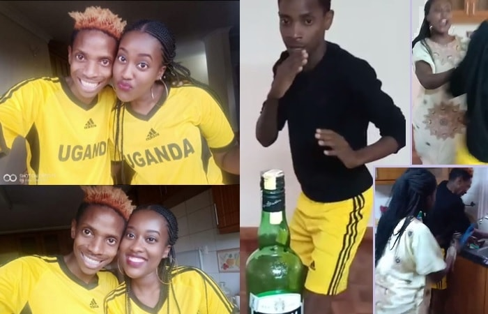 Martha Kay and Eric Omondi doing their thing