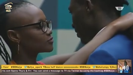 Marvis and Efe dancing together