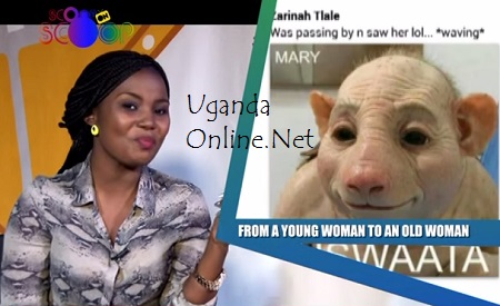 Mary Luswata featured Zari on her show