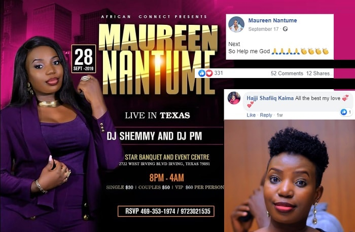 Maureen Nantume fails to perform in the US