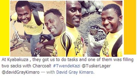 Maurice Kirya and David Kimaro