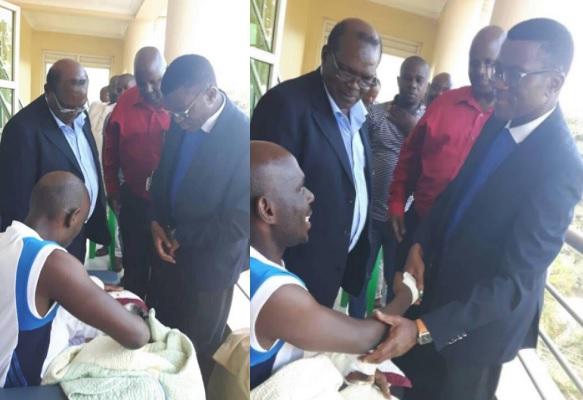 Bugada Premier, Charles Peter Mayiga at Nakasero Hospital