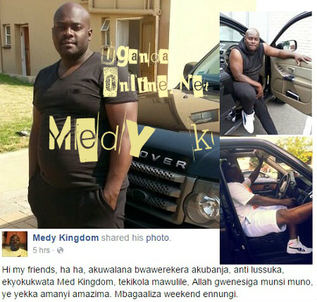 Medy Kingdom says it's the works of his haters at work