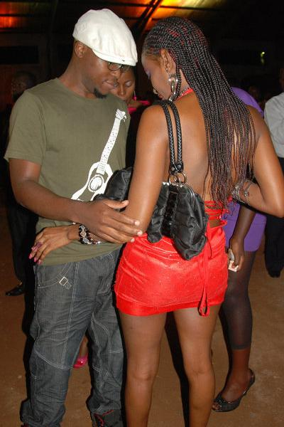 Maurice Hassa with a hot babe