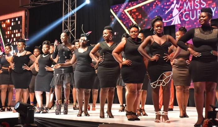 These were the Miss Curvy finalists on the day of the pageant