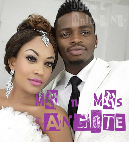 Zari and Diamond Platnumz after their private wedding
