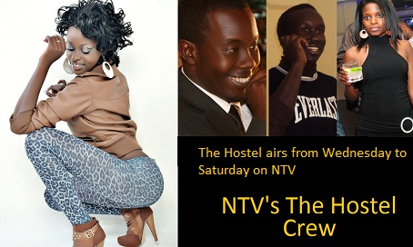 Some of the members of NTV's The Hostel