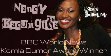 Nancy Kacungira-Komla Dumor Award winner