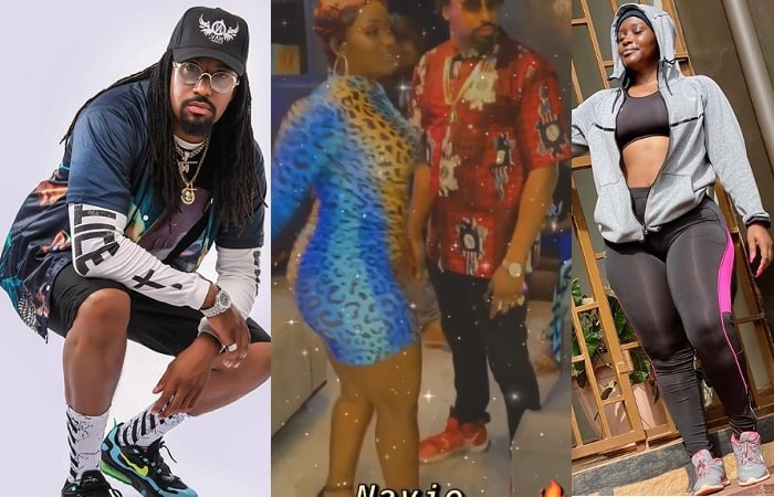 Navio and Winnie Nwagi on their dance that disturbed the Twitter streets