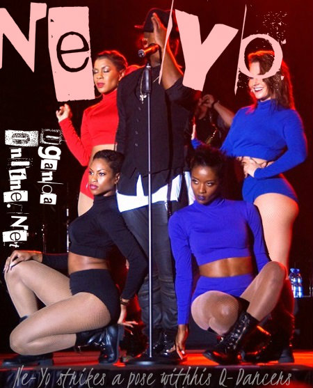 Ne-Yo and his Queen Dancers who did more than thrilling the fans