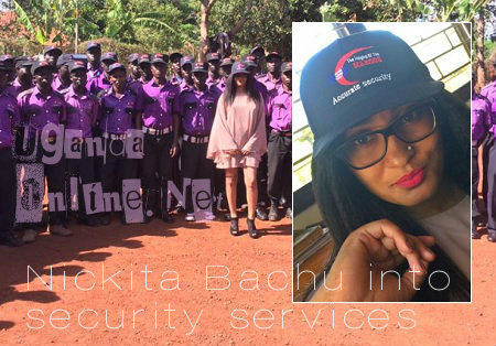 Nickita Bachu into security services