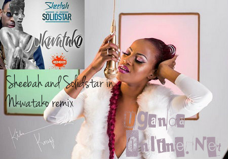 Sheebah and Solidstar in Nkwatako remix