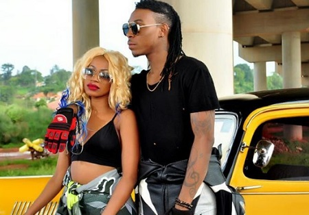 Sheebah and Solidstar along the Entebbe express highway