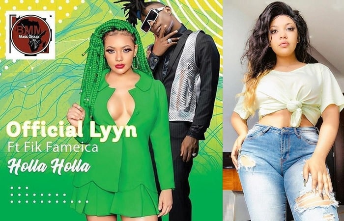 Official Lyyn features Fik Fameica on Holla Holla
