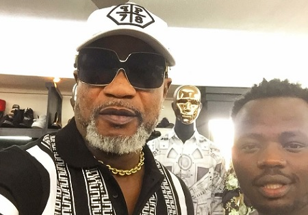 Olomide and Abryanz at Garden City