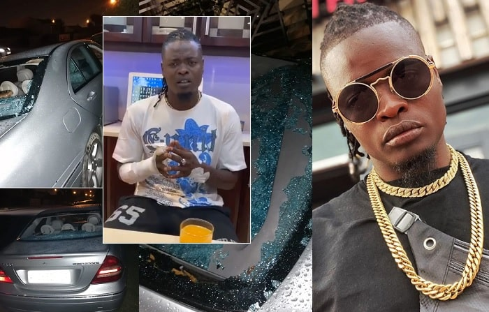 Pallaso was beaten while in South Africa