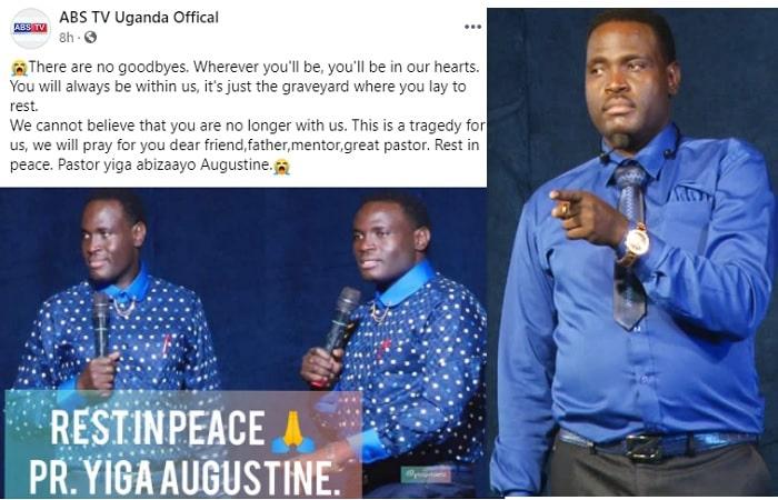Rest in peace Pastor Yiga