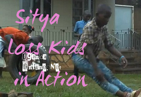 The kids in action in one of the videos