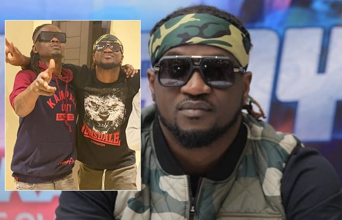 Paul Okoye aka Rudeboy in Kampala