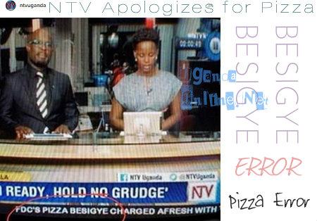 NTV apologizes for Pizza Besigye error