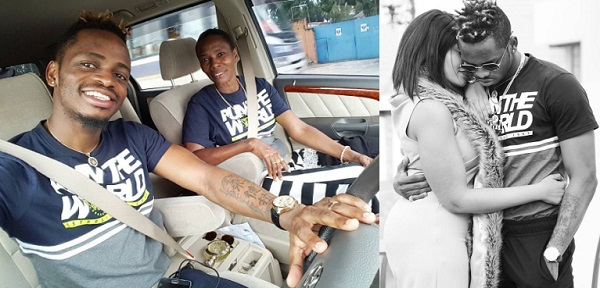Platnumz and his mom and inset is Zari